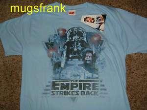 Star Wars Empire Strikes Back Poster Darth Vader Shirt