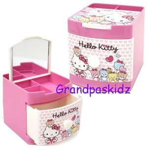 Sanrio Hello Kitty Jewelry Box / Mini Organizer Storage Toys & Games