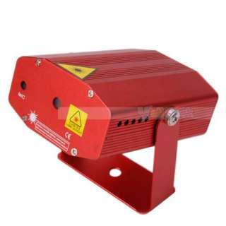 New Fireworks Style Mini Laser Stage lighting Red HK