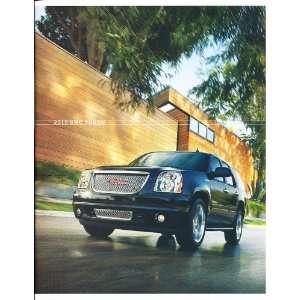2010 GMC Yukon Truck Deluxe Sales Brochure Book Denali