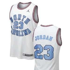 Michael Jordan UNC Nike 100 Year Ann Sewn Jersey:  Sports
