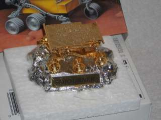 Hot Wheels Collectibles 24K Gold Plated Mars Sojourner