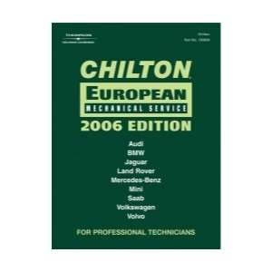 CHILTON 2006 OPEAN MECHANICAL SERVICE MANUAL