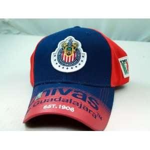 CHIVAS de GUADALAJARA OFFICIAL TEAM LOGO CAP / HAT   CV004