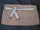 Vintage Charlet Japan Hand Beaded Evening Bag Purse