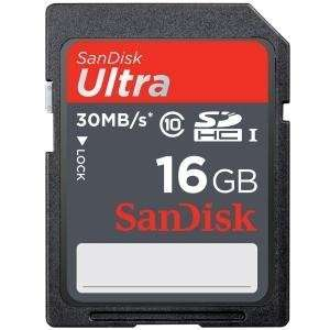 NEW 16GB Ultra SDHC Card (Flash Memory & Readers) Office