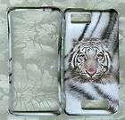 snow tiger Verizon Motorola Droid X MB810 phone Cover