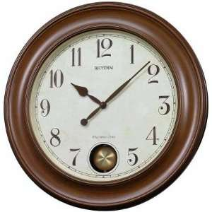 Rhythm Clocks WSM Grand Masters 22 Wall Clock