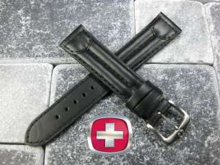 19mm VICTORINOX SWISS ARMY CAVALRY LEATHER STRAP BAND