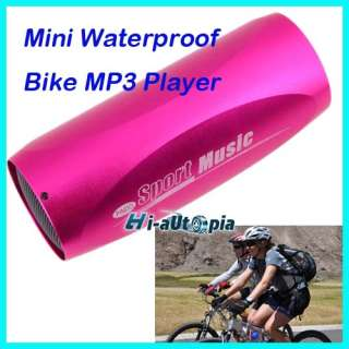 Mini Sport Bike Bicycle  Music Player Speaker Box