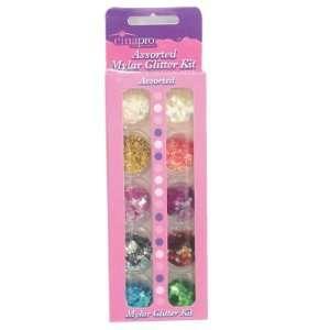 Star Nail Cina Pro Assorted Glitter Kit 10 Piece Beauty