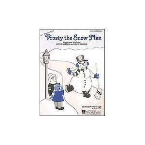 FROSTY THE SNOW MAN (SHEET MUSIC/Easy Piano, SHEET MUSIC
