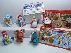 KINDER NOEL CHRISTMAS 2010 NEW SERIE +7BPZ GERMANY NEUF