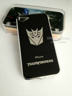 transformers decepticon luxury plating hard case cover iphone 4 4s