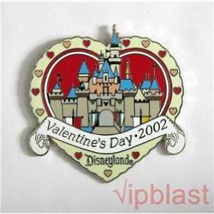 Pin/DLR Valentine Day Sleeping Beauty Castle 2002