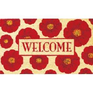 Welcome Coir Door Mat Patio, Lawn & Garden