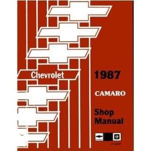 1987 CHEVROLET CAMARO Shop Service Repair Manual Book Automotive