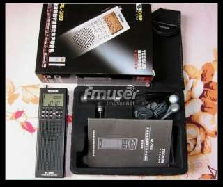 portable digital DSP AM/FM/shortwave PLL radio receiver PL360