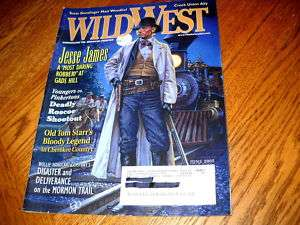 WILD WEST June 2005 JESSE JAMES Roscoe Shootout MORMON