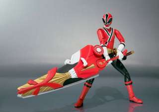 BANDAI S.H. Figuarts Shinkenger Super Shinken Red Figure Power Rangers