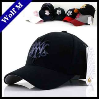 NEW Wolf M MENs FLEXFIT Baseball CAPs Trucker HATs BNWT