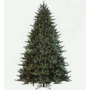 com 7.5 Fresh Cut Wisteria Spruce Pre Lit Artificial Christmas Tree