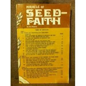 Miracle of Seed Faith Oral Roberts Books