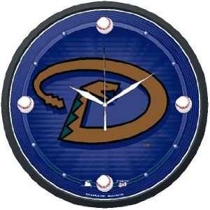 MLB Arizona Diamondbacks Team Logo Wall Clock