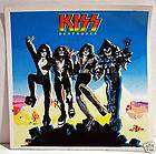 Kiss Destroyer Rock Band Concert Sticker Old Store