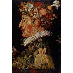 Le Printemps by Giuseppe Arcimboldo, 17 x 20 Fine Art Giclee Print