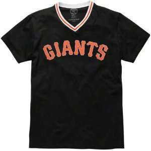 San Francisco Giants 47 Brand Onfield V Neck T Shirt