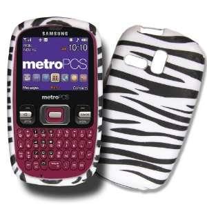 Black & White Zebra Design Samsung R355c / Samsung R350 TPU Skin Cover