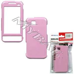 SAMSUNG ETERNITY A867 PINK SOLID HARD CASE COVER