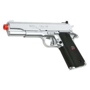 Colt Spring Delta Elite Pistol FPS 315 Airsoft Gun Silver