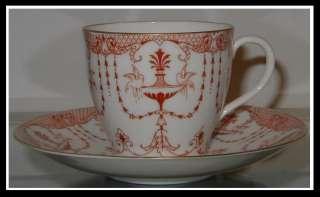 Antique Royal Doulton Porcelain Cup & Saucer Birdbath