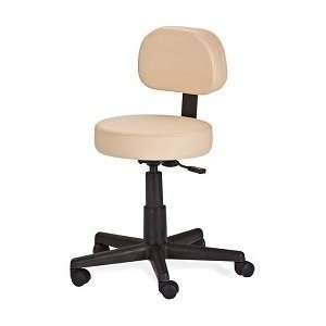 EarthLite Pneumatic Massage Stool with Back Support