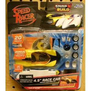 Car version) Speed Racer Snap N Build 20 Piece 4.5 Race Car Toys