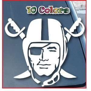 Oakland Raiders Car Window Vinyl Decal Sticker 7 Wide