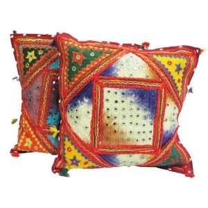 Traditional Handmade Ethnic Cushion Pillow Covers Throw