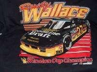 New Rusty Wallace tee shirt 1989 Winston Cup Champion Sports Image Lg