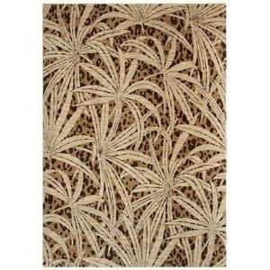 Shaw Tommy Bahama Home Nylon Tossed Palm Gold 42700 1 10 X 2 9