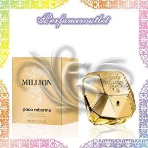 Paco Rabanne Lady One 1 Million 2.7 Women Perfume NIB ~