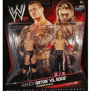 RANDY ORTON & EDGE WWE MATTEL 2PK SRS 10 FIGURE