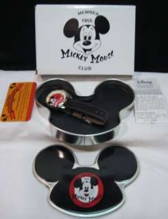 DISNEY MICKEY MOUSE CLUB WATCH~1955 2005 ANNIVERSARY~NEW IN BOX~TIN