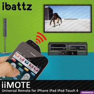 Universal Learning Infrared IR Remote Control iPhone iPad iPod T4
