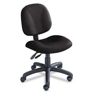 o Safco o   Cava Collection Task Chair, Black Frame, Black