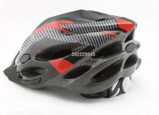 NEW Bicycle Adult Mens Bike Helmet Red carbon colour