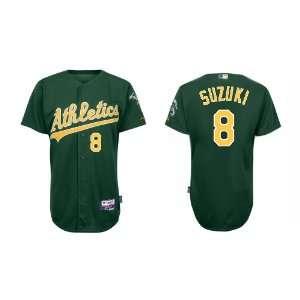 Wholesale Oakland Athletics #8 Suzuki Green Baseball Jerseys for Men