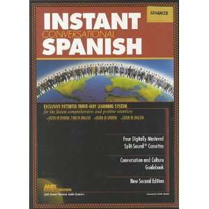Instant Conversational Spanish Advanced with Book(s