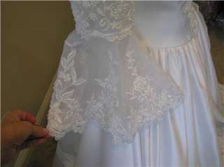 wedding dress bridal Ball gown Quinceanera Bell short sleeve 12